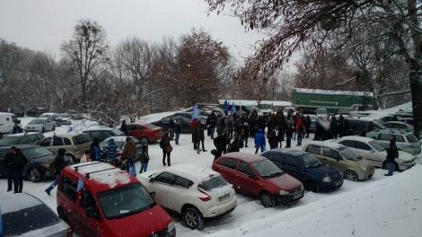 В Киеве «Автомайдан» выехал на пикет под МВД: требуют отставки Авакова