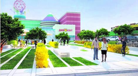 На месте снесенных МАФов на Оболони обещают построить сквер с фонтаном