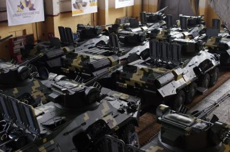 Новый цех для производства корпусов БТР-3 запустили на заводе в Киеве