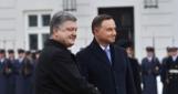Порошенко в Польше провел встречу «тет-а-тет» с Дудой