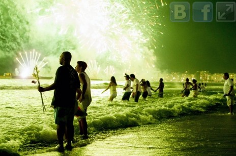 Новый 2017 год добрался до бразильских городов Рио-де-Жанейро и Сан-Пауло