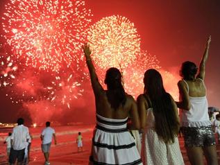 В Венесуэле, Мексике, центральной части США и Канады встретили Новый год
