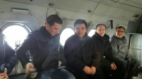 Климкин и новый глава ОБСЕ Курц посетили Мариуполь и КПВВ «Пищевик»