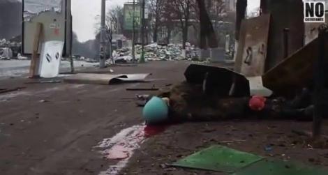 До гибели Устим Голоднюк два раза вынес убитых с Институтской  —  отец