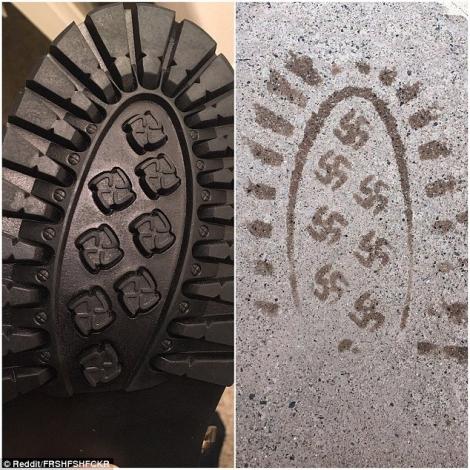 Американская фирма извинилась за выпущенные ботинки со свастикой