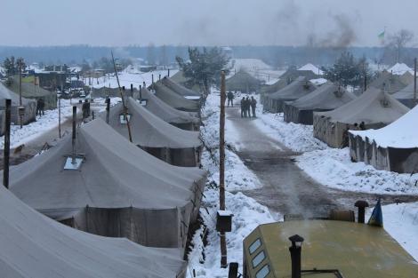 На Харьковщине начались учебные сборы резервистов из всех регионов Украины