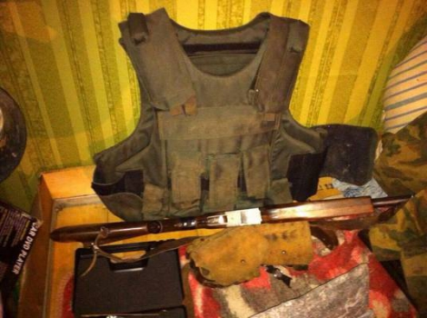На Харьковщине у советника главы райсовета нашли военную форму РФ и склад оружия