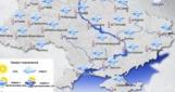 В субботу по всей Украине будет идти мокрый снег