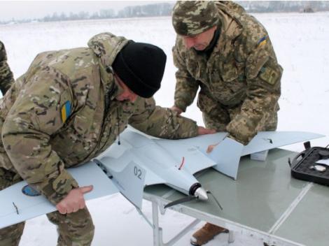 На Черниговщине успешно прошли испытания отечественного БПЛА «Лелека-100»