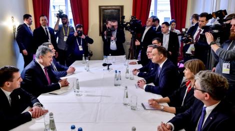 Порошенко и Дуда обсудили примирение украинского и польского народов