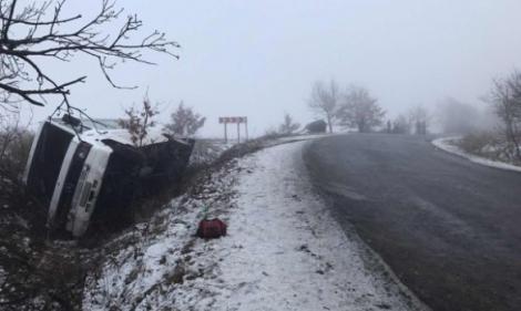 На Закарпатье перевернулся автобус с 18 пассажирами, есть пострадавшие
