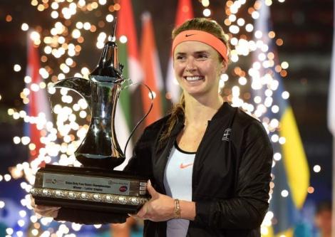 Украинская теннисистка Свитолина выиграла престижный турнир в Дубае