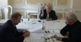 Трехсторонняя контактная группа начала переговоры в Минске