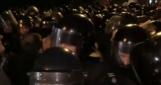Между участниками «блокадного веча» и полицией произошли столкновения