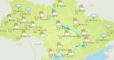 24 февраля в Украине облачно с прояснениями