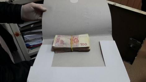 В Запорожье майора полиции поймали на взятке 15 тысяч гривен