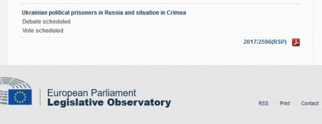 В Европарламенте пройдут срочные дебаты по ситуации в Крыму