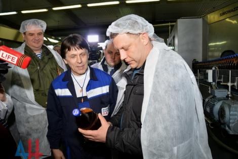 Оккупанты «под внешним управлением» запустили пивзавод «Сармат» в Донецке