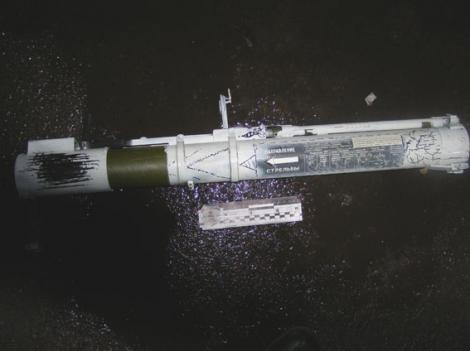 Ночью в Ровно обстреляли из гранатомета полицейский участок на улице Бандеры (фото)