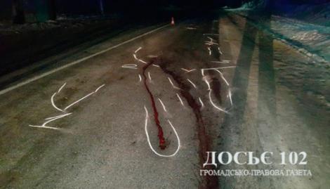 Страшное ДТП на Косовщине: микроавтобус тащил тело мужчины 14 километров