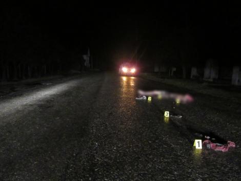 Опубликованы фото страшного ДТП на Косовщине, где бус тащил тело жертвы 14 км