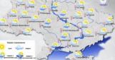 Во вторник по Украине местами небольшой дождь