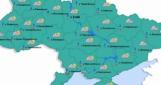 В понедельник в Украине будет идти дождь с мокрым снегом