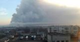 На военном складе в Балаклее  —  пожар и взрывы, Матиос заявил о диверсии