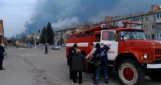 В Балаклее завершен этап локализации пожара, начался этап ликвидации  —  ГСЧС