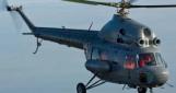 Под Краматорском упал украинский военный вертолет Ми-2: зацепился за линию электропередач
