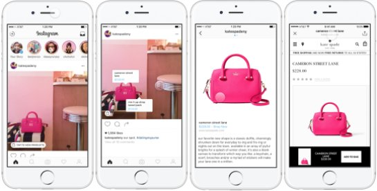 В Instagram можно будет покупать вещи напрямую с фотографий