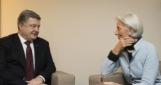 МВФ выделил Украине миллиардный транш, Порошенко поблагодарил Лагард