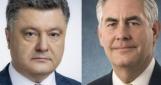 На Банковой говорят, что США обещают Порошенко не решать в Москве вопросы Украины и Сирии «пакетом»