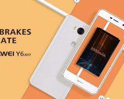 Huawei анонсировала бюджетный Y6 2017