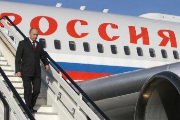 Самолет Путина в Финляндии под завязку наполнили ящиками с водкой