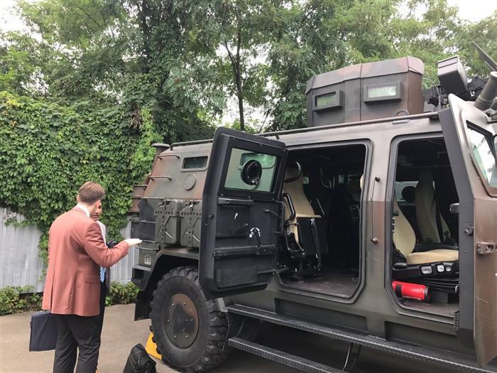 Бангладеш хочет купить украинские бронеавтомобили