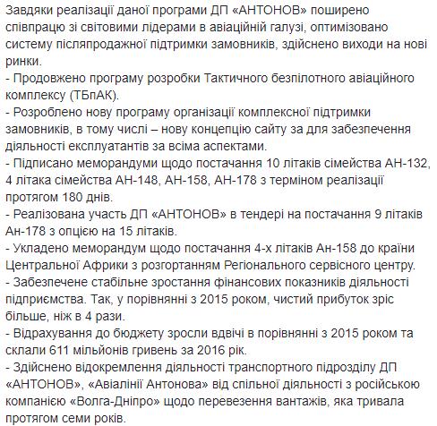 «Антонов» отчитался о достижениях за год и поделился планами