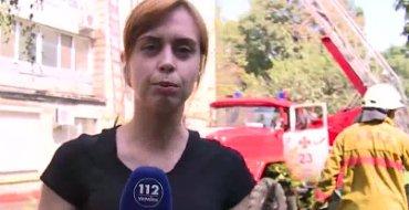 В центре Киева горит многоэтажка, есть жертвы