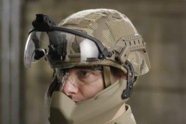 В США тестируют новый шлем пехотинцев (видео)