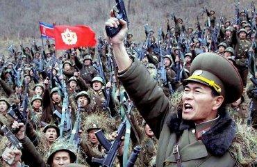 КНДР собирает армию для войны с США