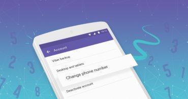 В Viber появилась долгожданная функция смены номера