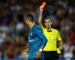 Федерация футбола Испании дисквалифицировала Роналду на пять матчей