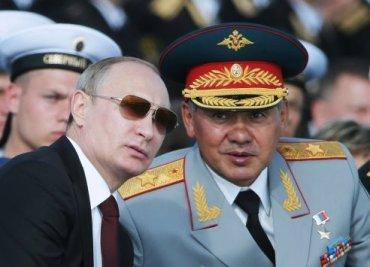 На репетиции парада российский адмирал перепутал Шойгу с Путиным