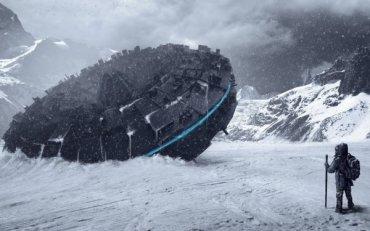 В Антарктиде найден трапециевидный НЛО