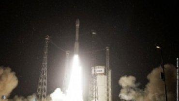 Ракета Vega с украинским двигателем вывела на орбиту два спутника
