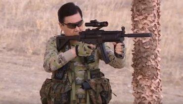 Президент Туркмении на военных учениях решил, что он Рембо