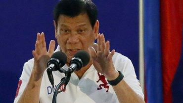 Президент Филиппин Дутерте нецензурно обозвал Ким Чен Ына