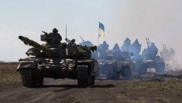 Украинская армия наступает и закругляет Светлодарскую дугу