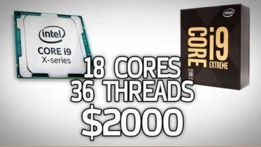 Результаты тестов 18-ядерного Intel Core i9-7980XE