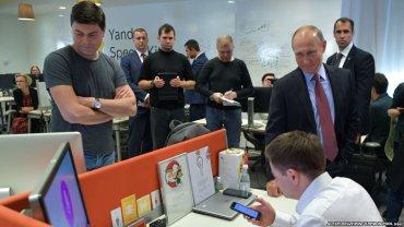 Сотрудников «Яндекса» эвакуировали из офиса после визита Путина